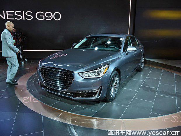 现代(进口) Genesis G90 2016款 基本型