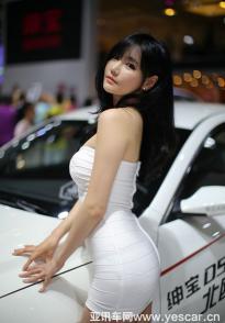 爆料!超模李畅即将亮相2016广西车展