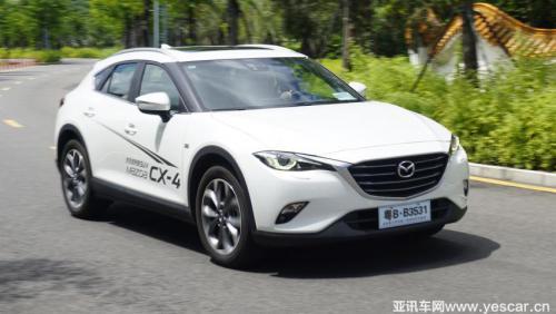 颜值加持—试驾一汽马自达全新CX-4 2.5l自动四驱蓝天无畏版