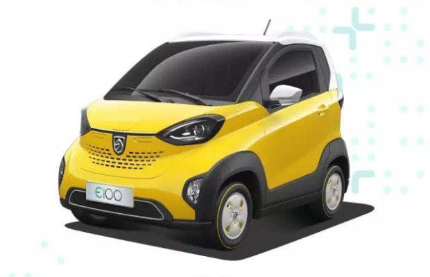 宝骏E100将于明年上市高清图片