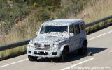 装配4.0T V8发动机 全新AMG G 63车型谍照