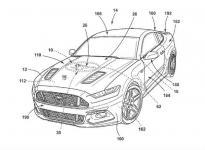 发动机盖印logo 福特申请发动机舱盖图案专利
