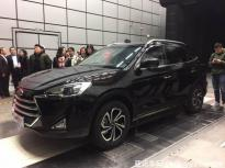 进军7座中型SUV 江淮瑞风S7实车正式亮相