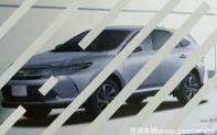 6月海外发布 丰田新款Harrier造型泄露