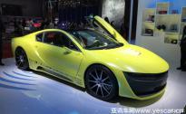 2017上海车展:Rinspeed Etos概念车