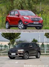 两款畅销小型SUV该选谁?长安新CS35对比哈弗H2