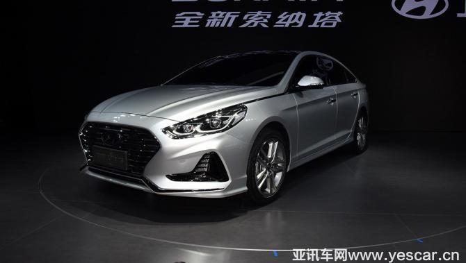 新款索纳塔/ix25等 曝现代成都车展阵容