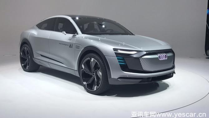 2017法兰克福车展:奥迪elaine概念车