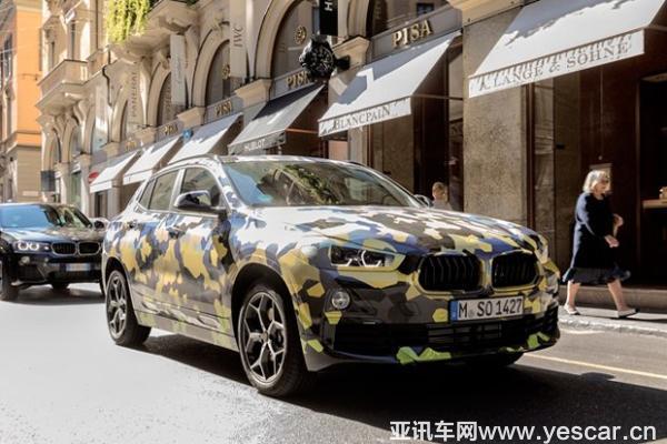 2018年初亮相北美车展 曝宝马X2新消息
