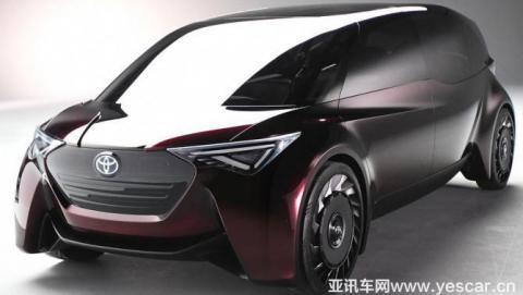 丰田Fine-Comfort Ride概念车官图发布