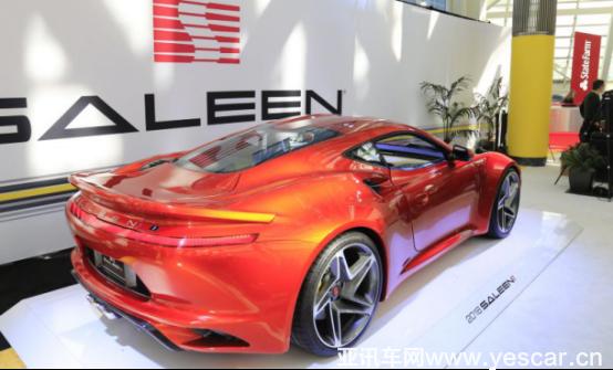 2017洛杉矶车展开幕,赛麟S1全球首发 汽车殿堂
