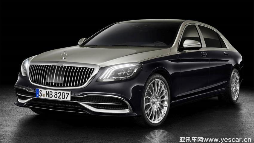 增加双色车身 新款迈巴赫S级官图发布