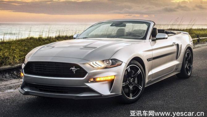 致敬经典 新款Mustang加州特别版官图