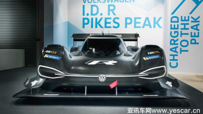 百公里加速2.25s 大众发布纯电动赛车