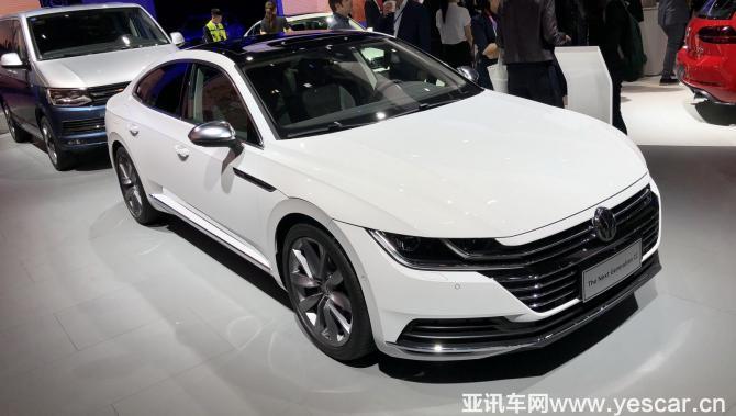 2018北京车展:国产全新一代CC亮相