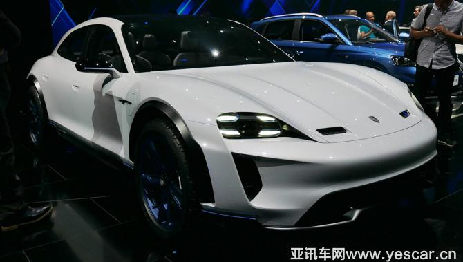 2018北京车展:保时捷Mission e新车型