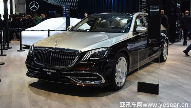 2018北京车展:新款迈巴赫S级正式亮相