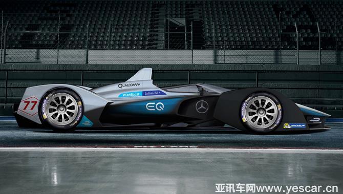 奔驰公布Formula E参赛车相关研发细节