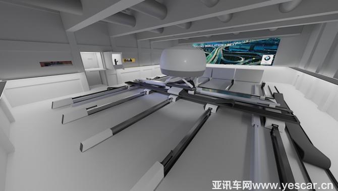 满足自动驾驶开发 宝马建模拟测试中心