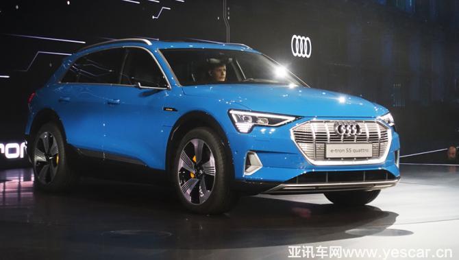 电动SUV 奥迪e-tron quattro正式发布