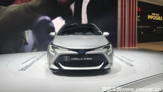 将于中国首发 全新卡罗拉三厢版预告图