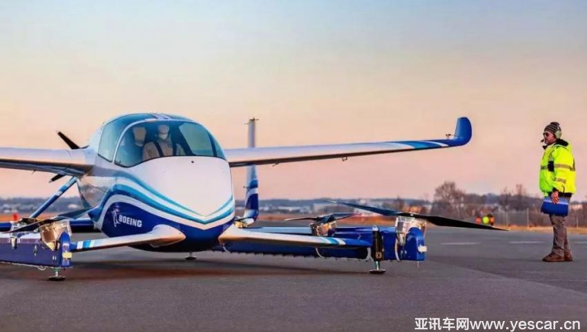 波音自动驾驶飞行车原型机完成首次试飞