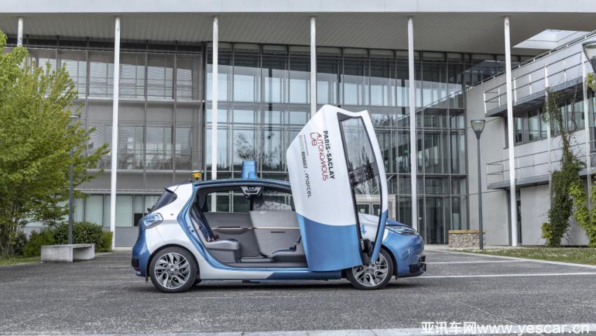 雷诺牵头 多机构联手在法试营自动驾驶