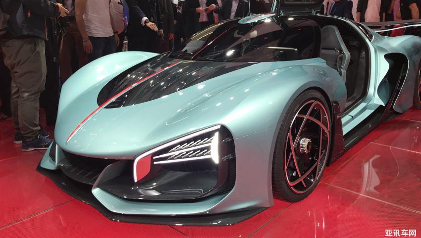 2019法兰克福车展:红旗S9概念车首发