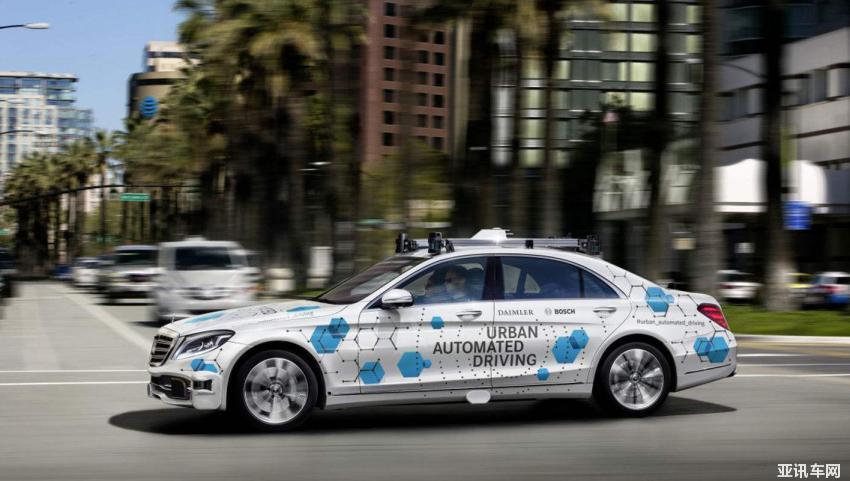 99.999% 奔驰高管概述自动驾驶安全标准
