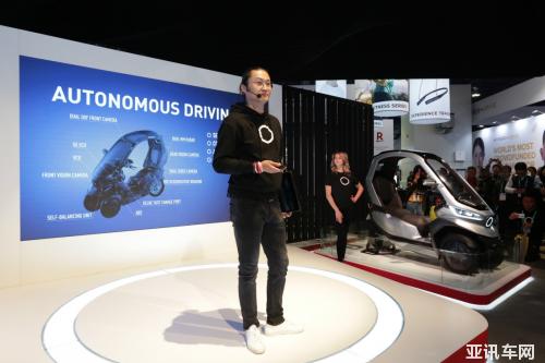 小牛电动发布全球首款自动驾驶三轮电动摩托车TQi 自动驾驶时代近在眼前