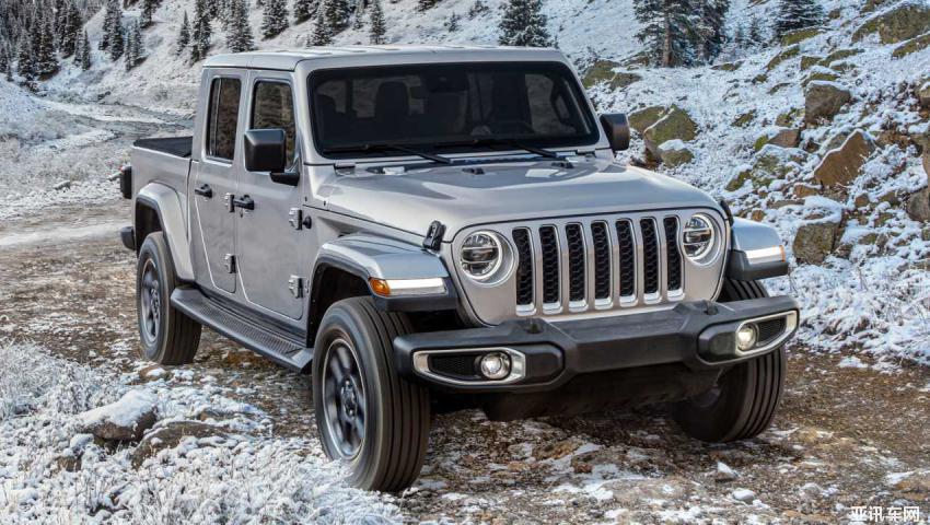 1月16日首发 Jeep Gladiator特别版官图