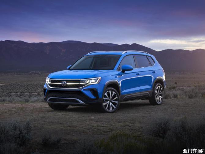 定位为紧凑型SUV 大众Taos官图发布