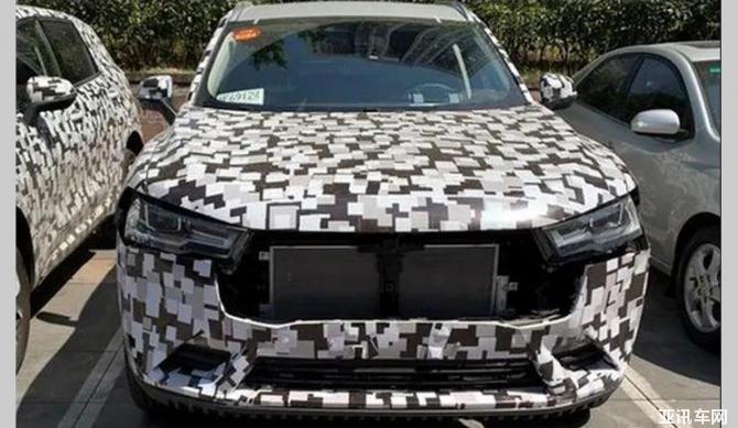 全新内饰很吸睛 全新一代VV7测试车曝光