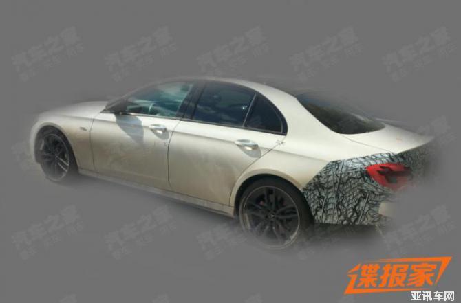 新款梅赛德斯-AMG E 53国内谍照曝光