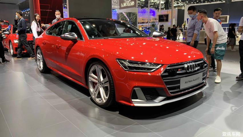 2020广州车展锤都:新一代奥迪S7 Sportback