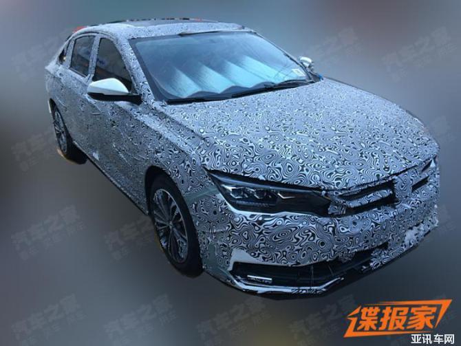 奕炫MAX伪装车明日亮相 全新1.5T发动机