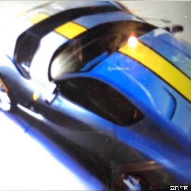 法拉利812 Superfast特别版细节图曝光