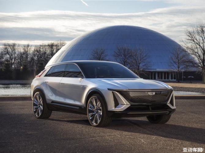 造型类似概念车 凯迪拉克LYRIQ谍照