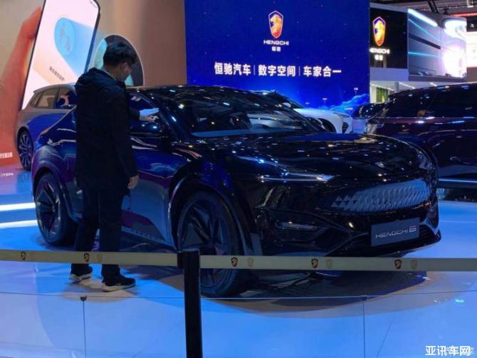 2021上海车展:紧凑型跨界SUV恒驰6亮相