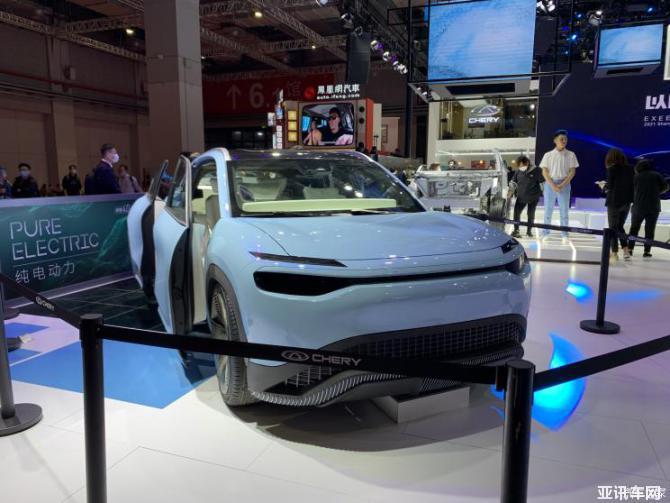 2021上海车展:奇瑞大蚂蚁X概念车亮相
