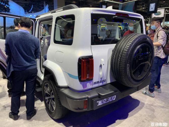 """021上海车展:坦克300城市版HEV车型"""""""