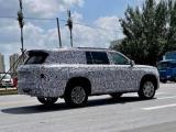 预计年底发布 红旗L系列SUV谍照曝光