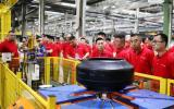 京东汽车京安途轮胎全新生产线开放 携手全国优秀经销商打造行业新生态
