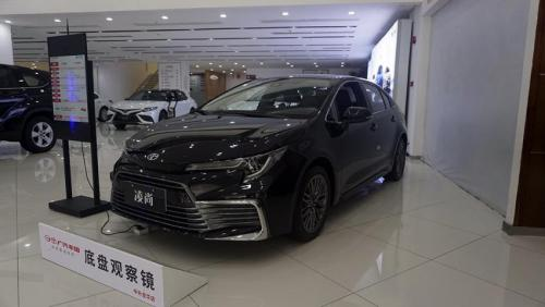 想要跃级挑战 实拍广汽丰田凌尚