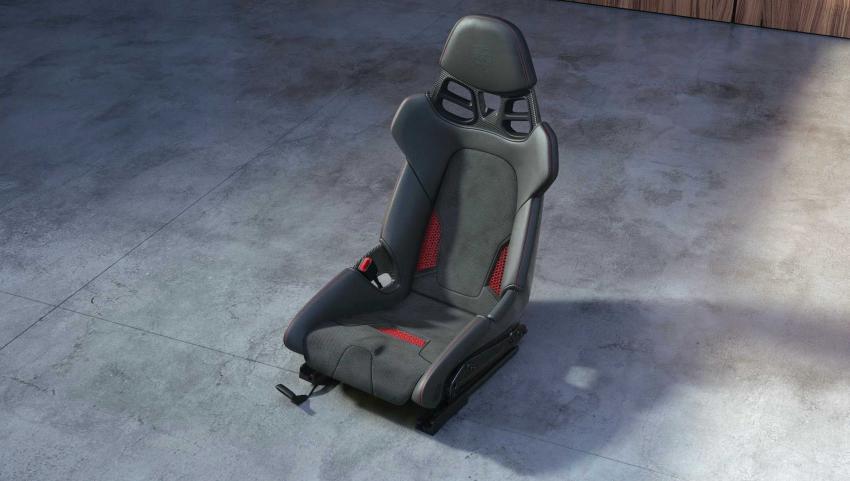 新老车型都能装 保时捷提供3D打印座椅选装